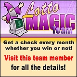 Lotto Magic has a team member site. Join Lotto Magice and get YOUR Magic Lotto Number on the team now!