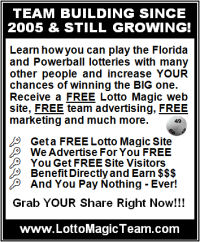 3 inch lotto pool  ad for tabloid use
